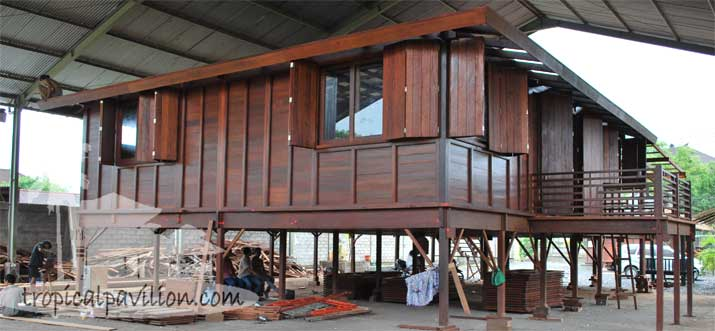 Current orders for Prefab tropical homes