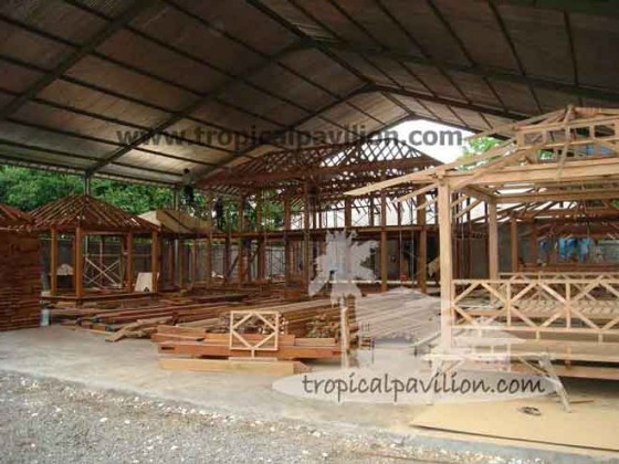Factory Bali Prefab House Pavilion Villa And Gazebo